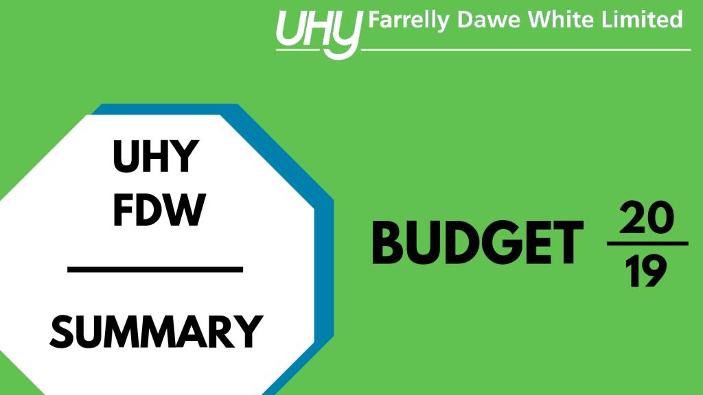 Budget Video 2019