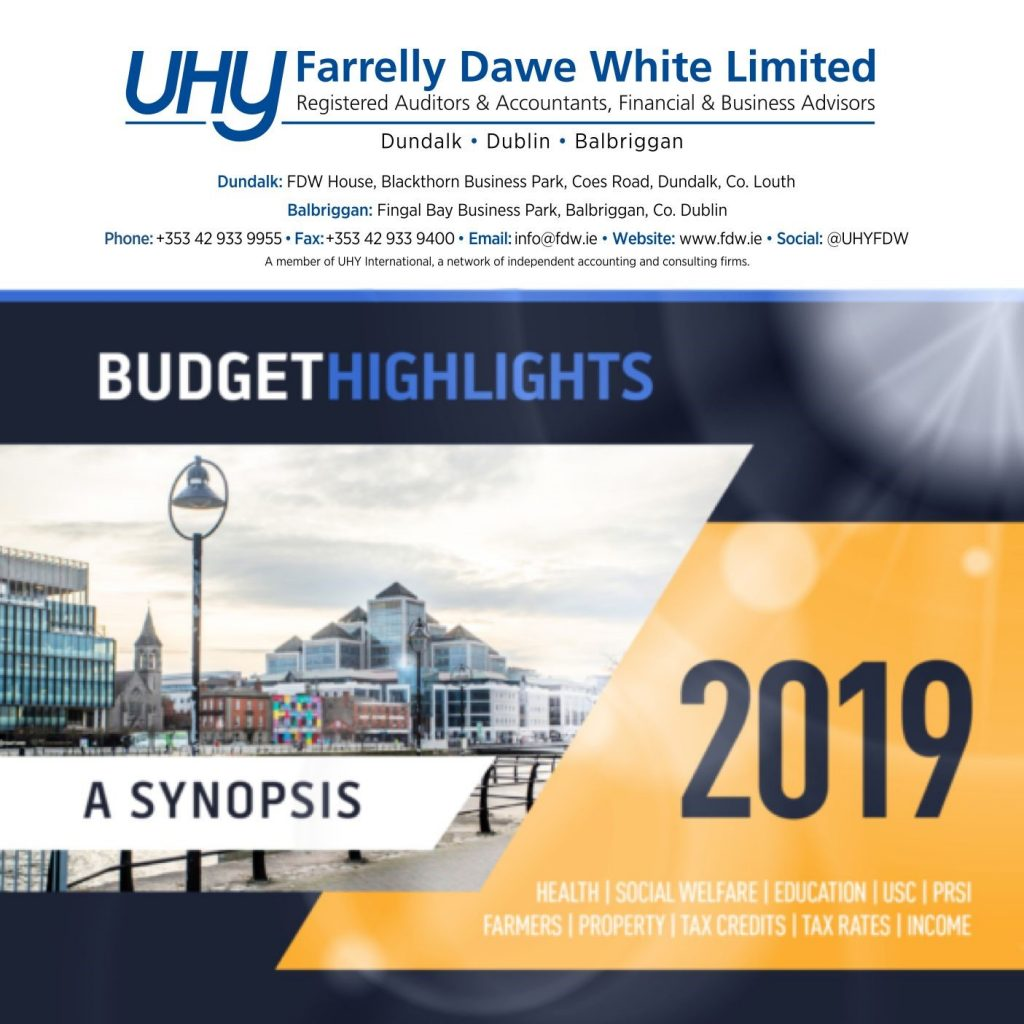 Budget Highlights 2019 - A Synopsis