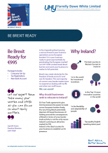 Be Brexit Ready