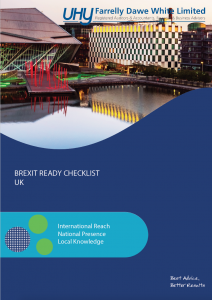 Brexit Ready Checklist UK