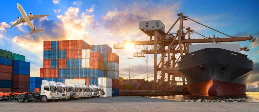 Logistics export and imports
