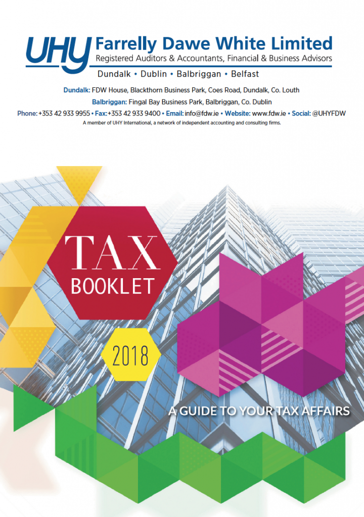 Tax Booklet 2018