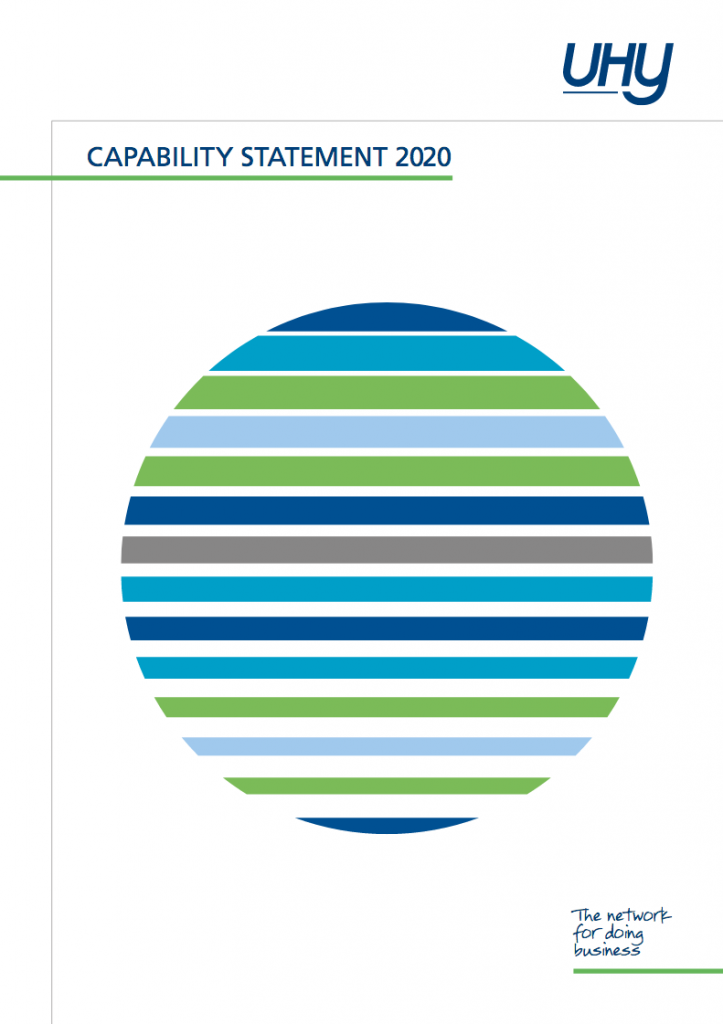 Capability Statement 2020